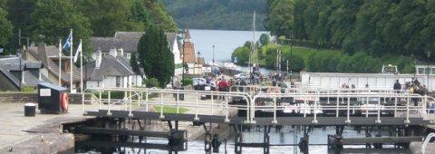 Sailing Loch Ness